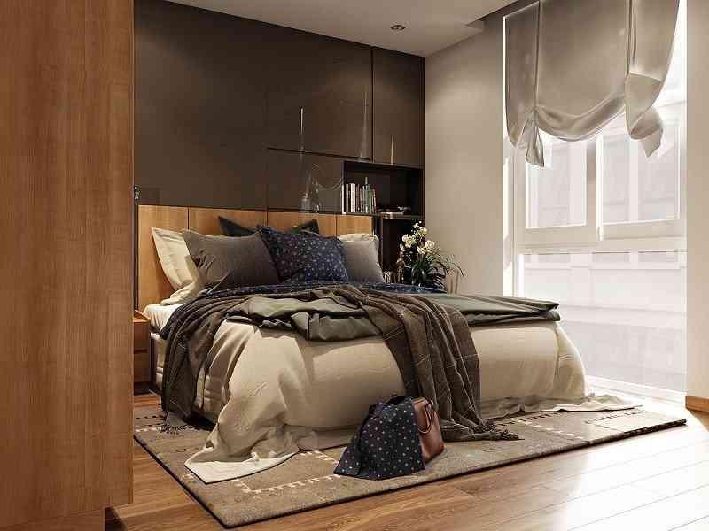 Cách bố trí nội thất phòng ngủ diện tích 9m2 - cach bo tri noi that phong ngu dien tich 9m2 3