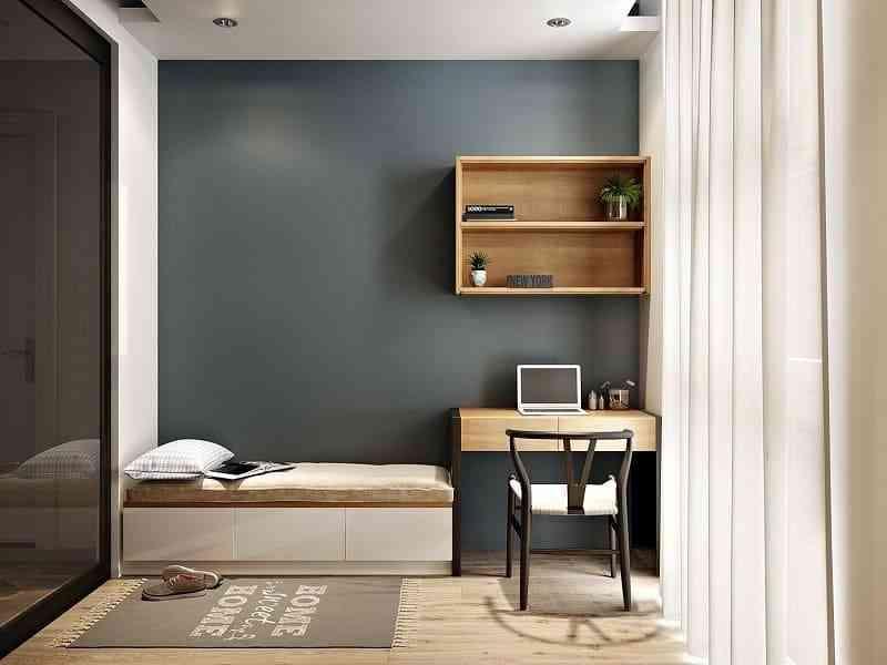 Cách bố trí nội thất phòng ngủ diện tích 9m2 - cach bo tri noi that phong ngu dien tich 9m2 6