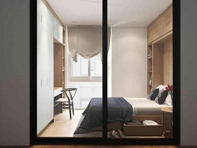 Cách bố trí nội thất phòng ngủ diện tích 9m2 - cach bo tri noi that phong ngu dien tich 9m2 7