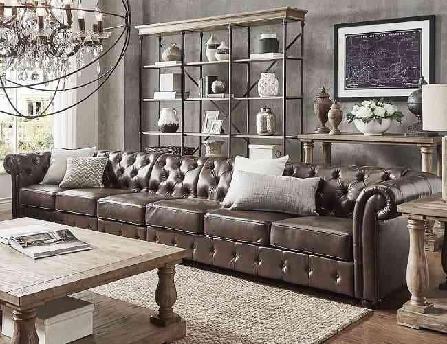 Cách vệ sinh ghế sofa da được hàng nghìn người áp dụng thành công - Làm sạch trước một phần của ghế sofa da