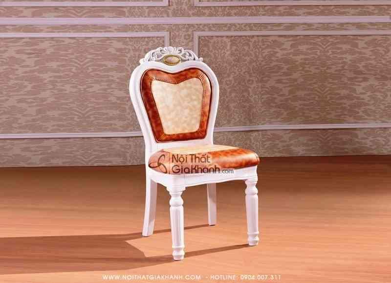 Ghế ăn gỗ tự nhiên tân cổ điển cao cấp GA206S