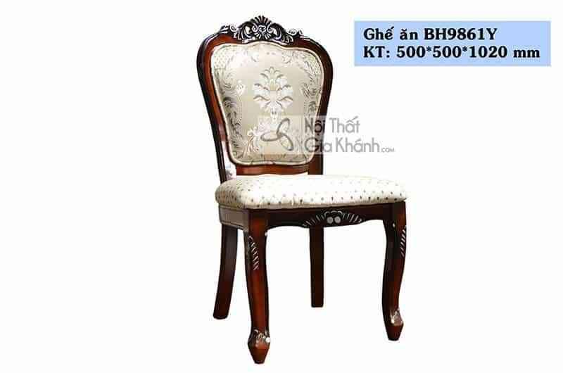 Ghế ăn tân cổ điển giá rẻ BH9861Y-1 - ghe an tan co dien gia re bh9861y 1