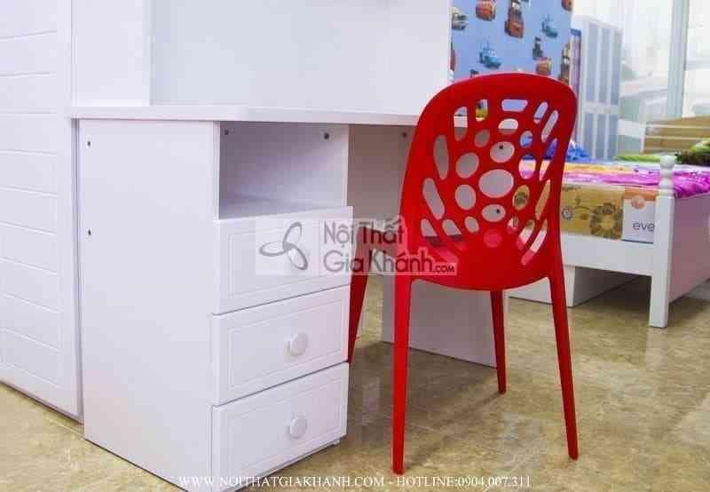 Ghế nhựa học sinh nhập khẩu màu đỏ CK3 - ghe nhua hoc sinh nhap khau mau do ck3 3