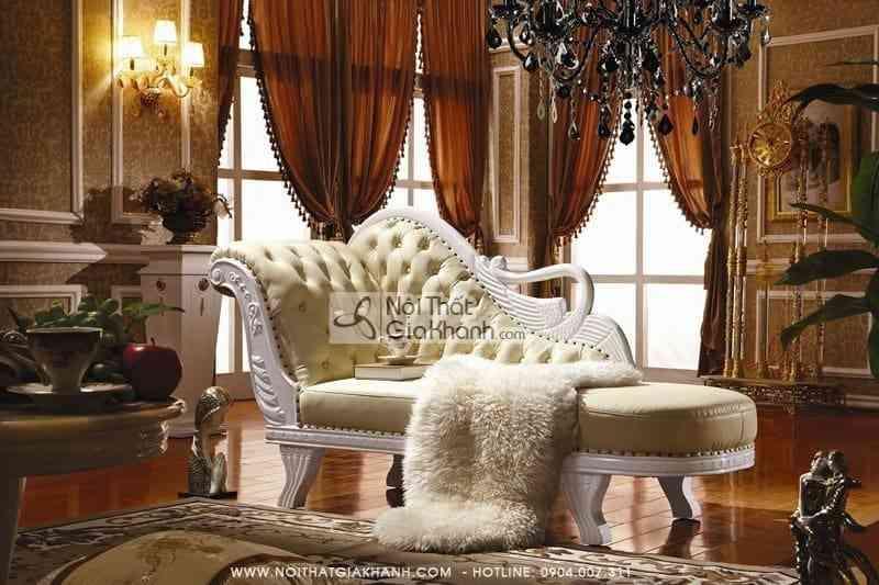 Ghế quý phi Cổ điển – Ghế Sofa thư giãn KH382STK