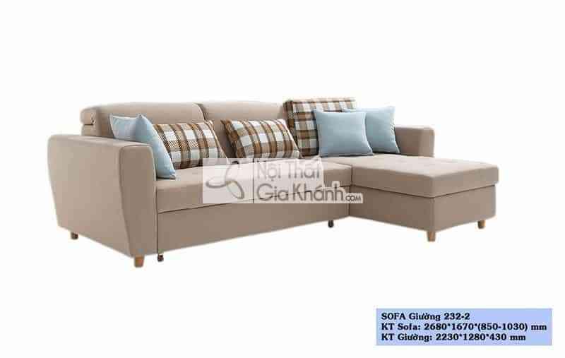 ghe sofa ket hop giuong ngu sf232 2 - Ghế sofa kết hợp giường ngủ SF232-2