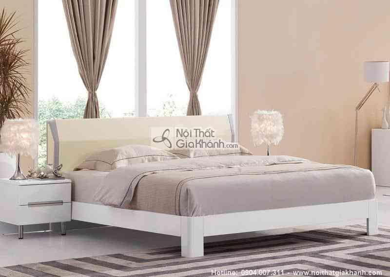 Những mẫu giường ngủ giá rẻ nhưng đẹp nhất - giuong ngu 1m5 am ap go cong nghiep hd220as