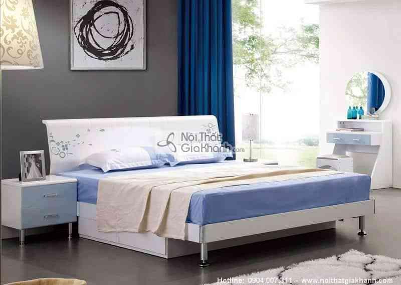 giuong ngu 1m5 cao cap nhap khau hd908bs - Bộ phòng ngủ phong cách hiện đại HĐ908BBG