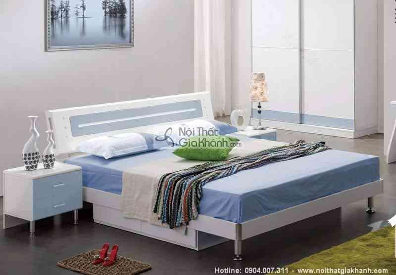 Giường ngủ 1m5 giá rẻ nhất Hà Nội HĐ908AS