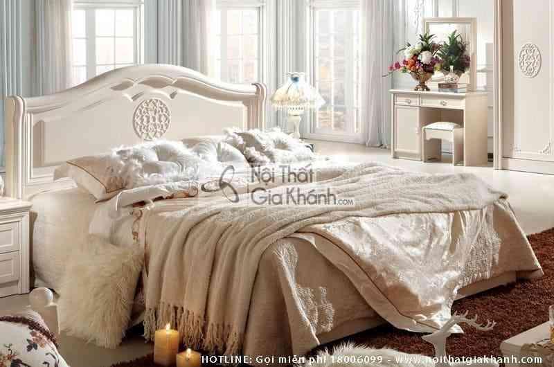 Giường ngủ êm ái phong cách Hàn Quốc A686A15