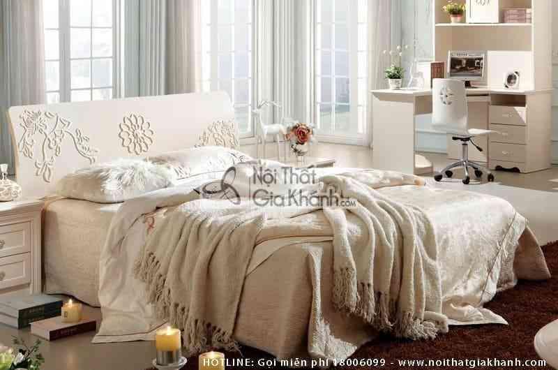 Giường ngủ hiện đại phong cách Hàn Quốc A689A12