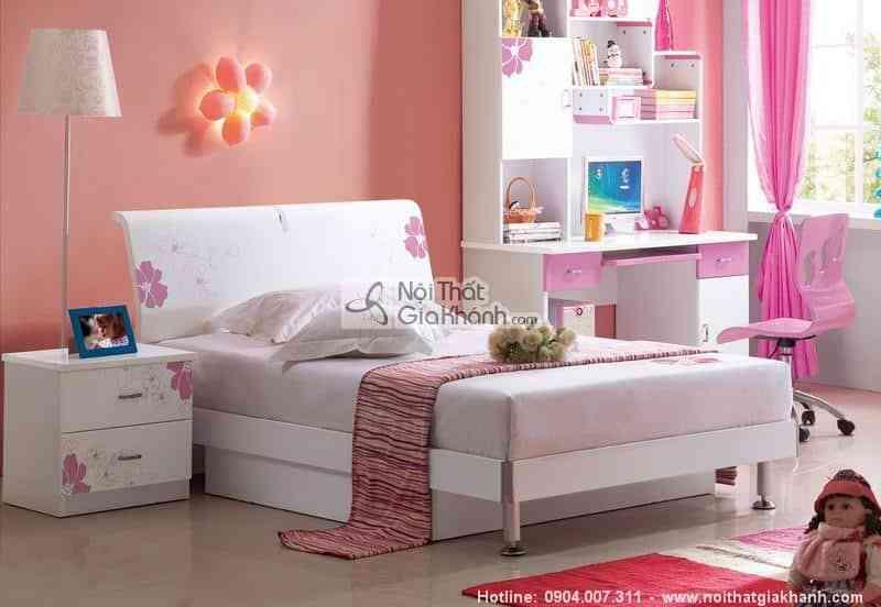 Giường ngủ ước mơ gỗ MDF H836-1