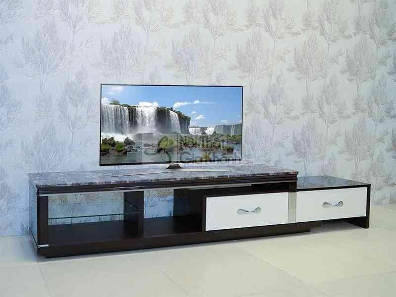 Thiết kế kệ tivi phòng khách độc đáo có một không hai - ke ti vi mat da phong khach da nang y262 2