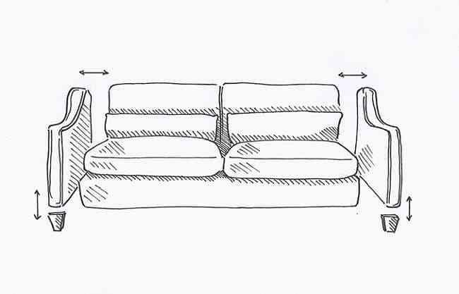 Hãy nhớ rằng, kích thước chiếc ghế sofa phù hợp phải đi qua được cửa ra vào nhà bạn một cách dễ dàng