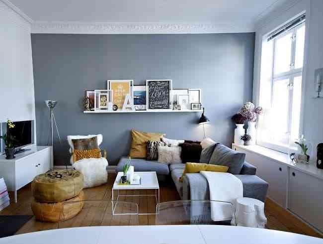 Mách bạn: Giải pháp trang trí phòng khách nhỏ gọn gàng, ngăn nắp - mach ban giai phap trang tri phong khach nho gon gang ngan nap 2