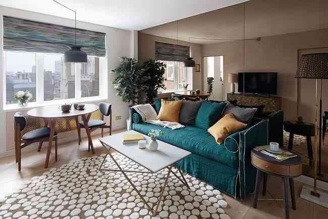 Mách bạn: Giải pháp trang trí phòng khách nhỏ gọn gàng, ngăn nắp