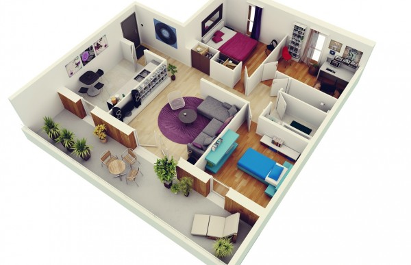 mau-nha-dep-3-bedroom-apartment-plans-600x387