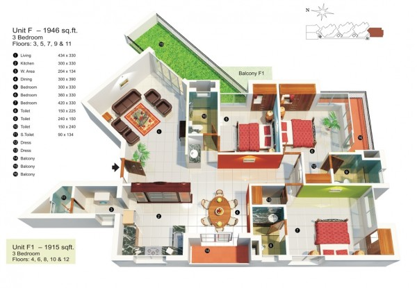 mau-nha-dep-3-bedroom-under-2000-square-feet-600x415