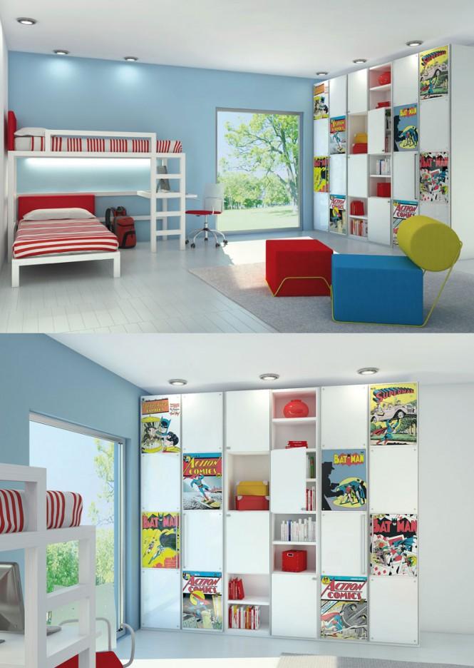 mau-nha-dep-Comic-book-room-665x936