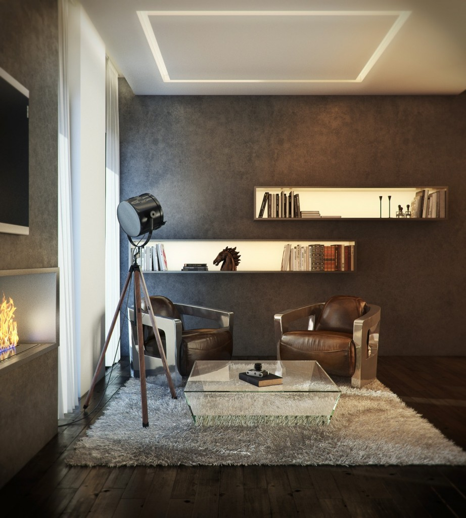Mẫu thiết kế nhà cực sang trọng - mau nha dep classic luxury apartment inspiration 922x1024