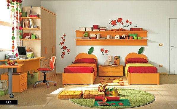 mau-nha-dep-colorful-bedroom-for-twins