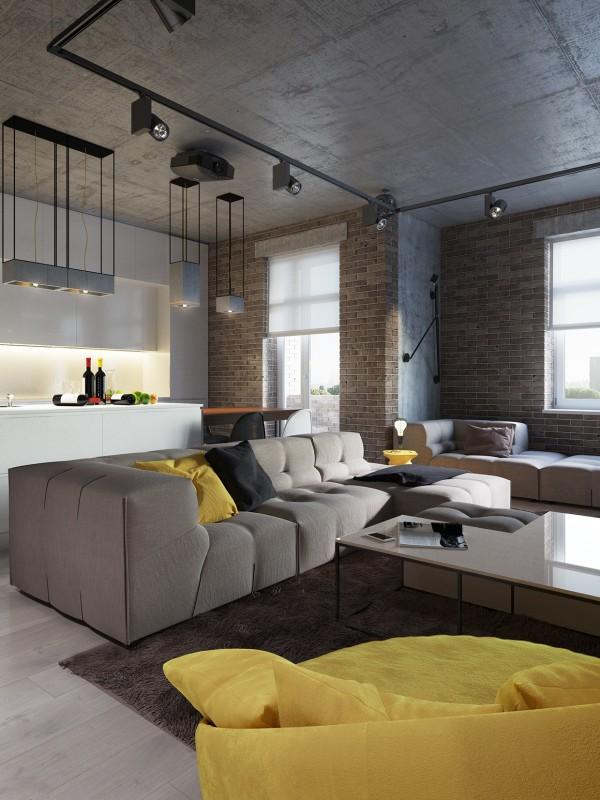 mau-nha-dep-concrete-ceiling-design-600x800