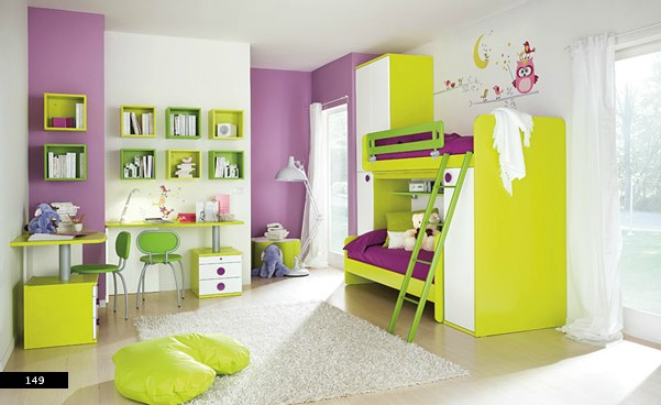 mau-nha-dep-girls-room-with-pastel-primary-colors