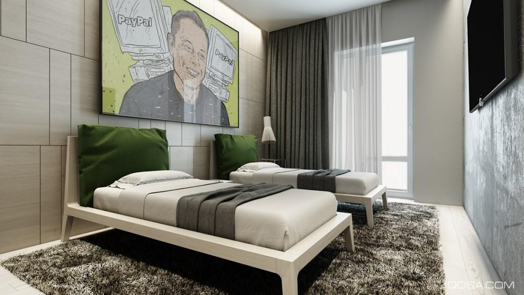 mau-nha-dep-green-and-brown-bedroom-inspiration