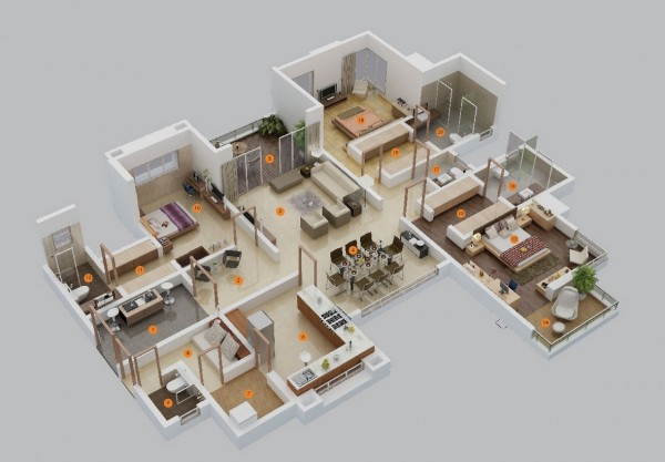 mau-nha-dep-large-3-bedroom-floor-plans-600x417