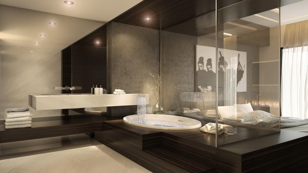 Mẫu thiết kế nhà cực sang trọng - mau nha dep luxury bedroom bathroom ideas 1024x576