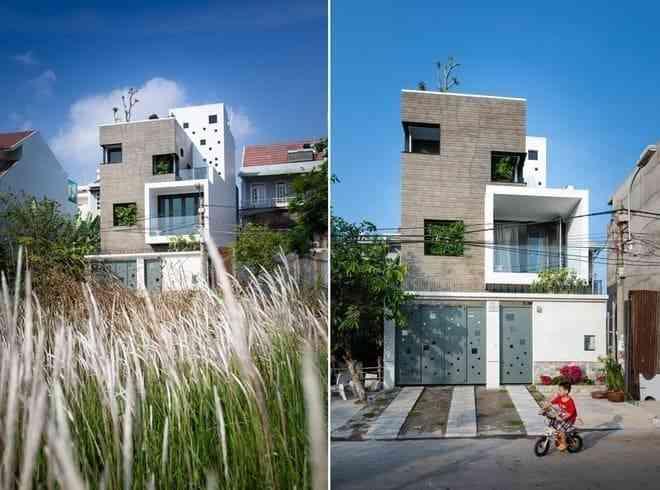Mẫu thiết kế nhà phố hiện đại, được nhiều người yêu thích 2017 - mau thiet ke nha pho hien dai duoc nhieu nguoi yeu thich 2017 12