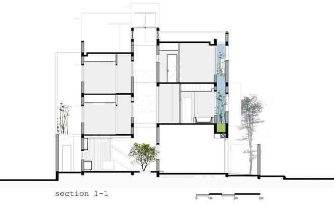 Mẫu thiết kế nhà phố hiện đại, được nhiều người yêu thích 2017 - mau thiet ke nha pho hien dai duoc nhieu nguoi yeu thich 2017 3
