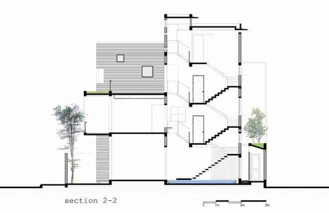 Mẫu thiết kế nhà phố hiện đại, được nhiều người yêu thích 2017 - mau thiet ke nha pho hien dai duoc nhieu nguoi yeu thich 2017 4