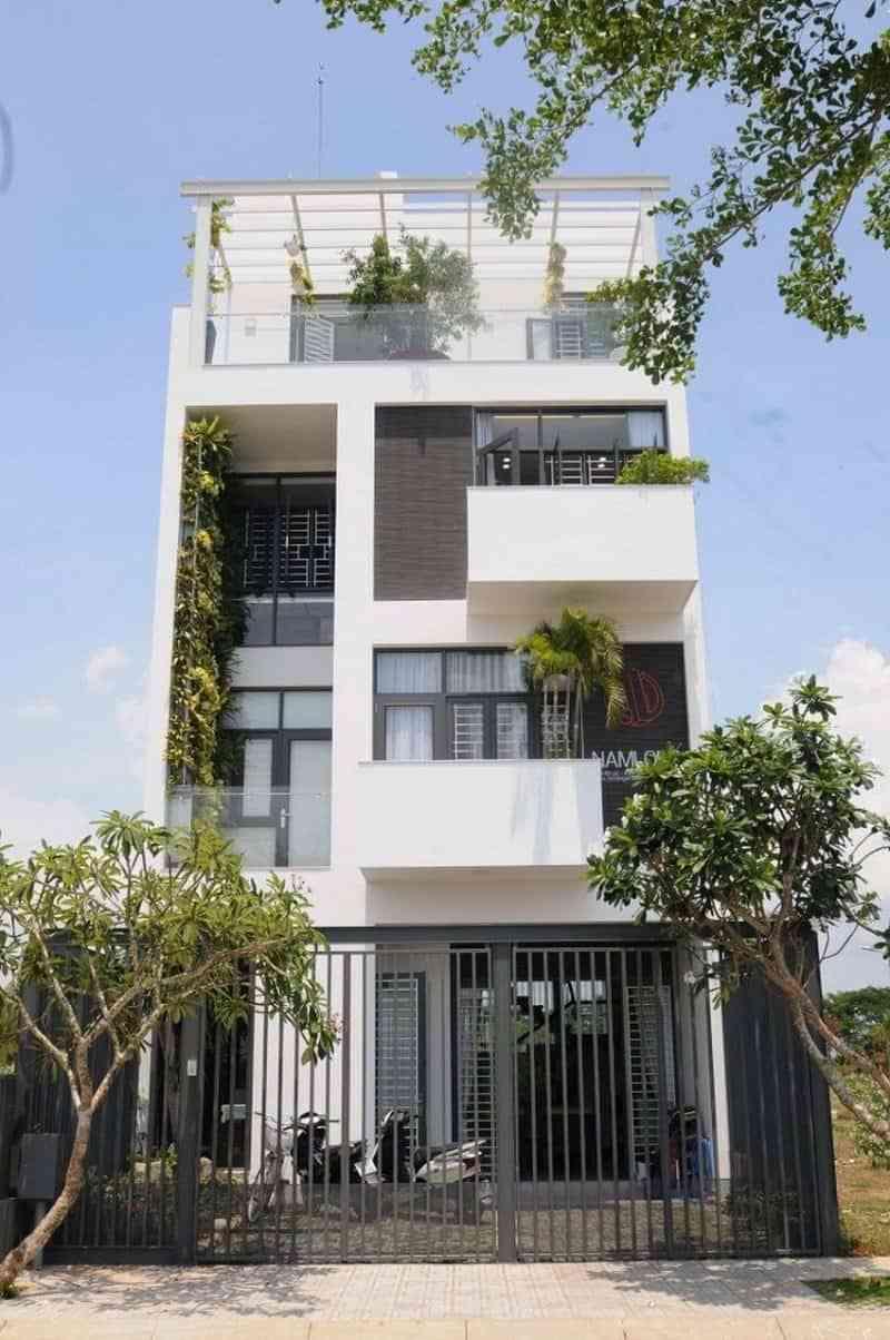 Mẫu thiết kế nhà phố hiện đại, được nhiều người yêu thích 2017 - mau thiet ke nha pho hien dai duoc nhieu nguoi yeu thich 2017 5