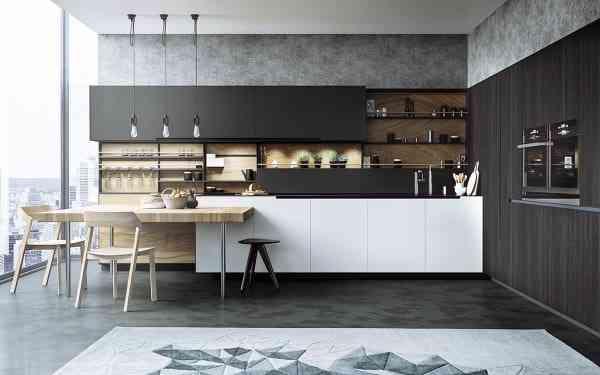 Một số không gian bếp đơn giản và đẹp mắt - mot so khong gian bep don gian va dep mat 6