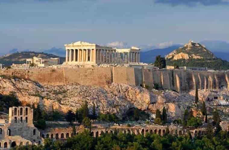 công trình kiến trúc Hy Lạp cổ đại - Acroplis