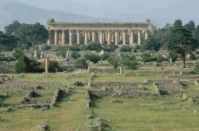 công trình kiến trúc Hy Lạp cổ đại - Đền thờ thần biển Neptune