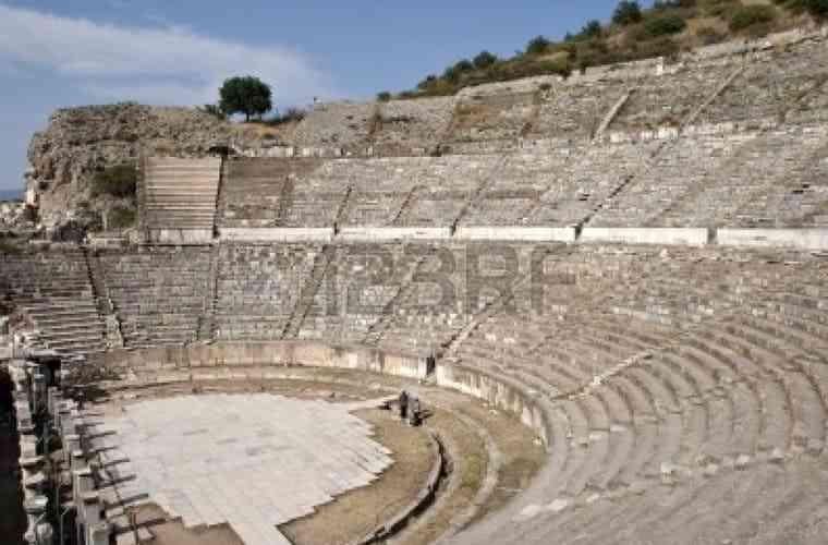 công trình kiến trúc Hy Lạp cổ đại - Ephesus