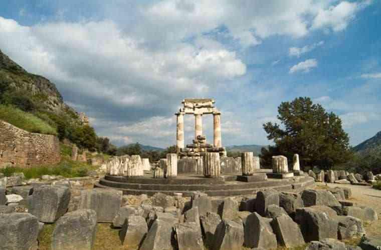 công trình kiến trúc Hy Lạp cổ đại- Đền thờ thần Athena