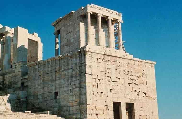 công trình kiến trúc Hy Lạp cổ đại - Đền thờ nữ thần Athena Nike