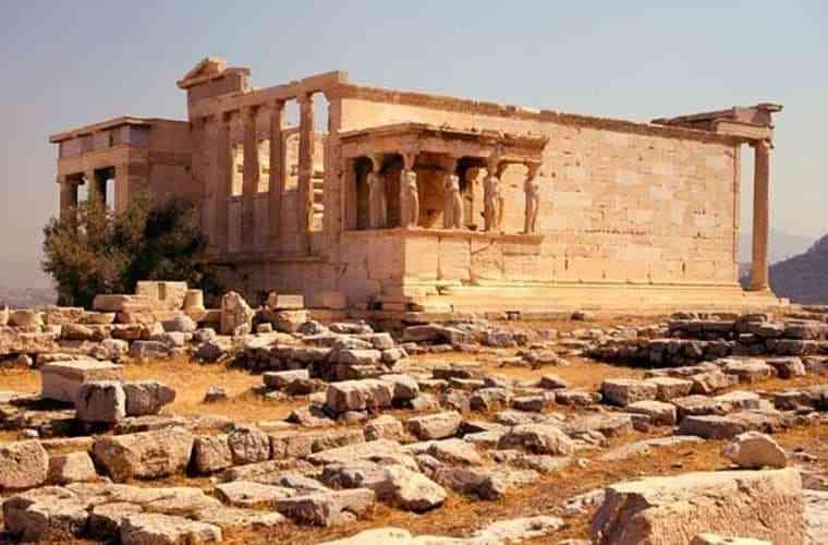 công trình kiến trúc Hy Lạp cổ đại - Đền Erechtheum