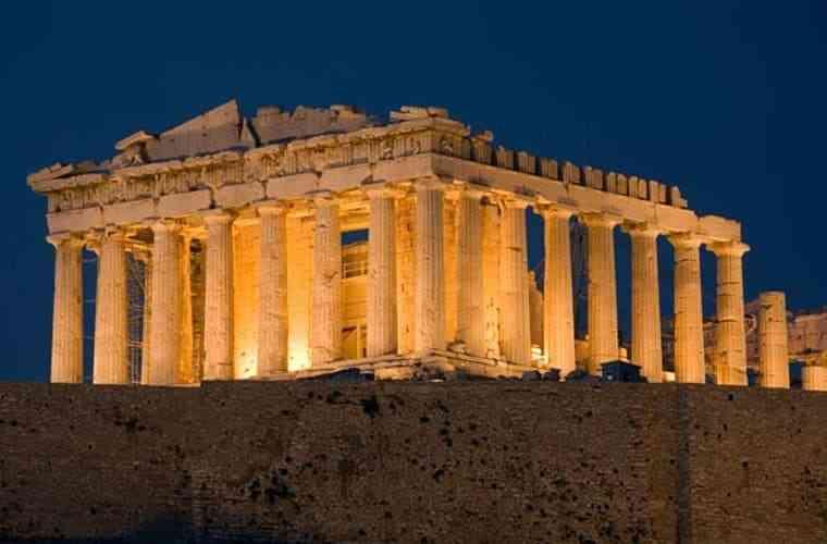 công trình kiến trúc Hy Lạp cổ đại - Parthenon
