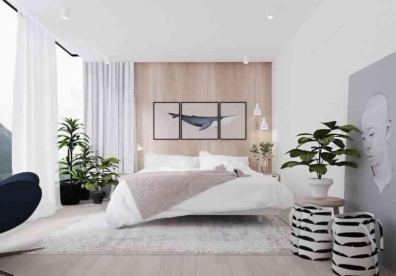 Phong cách nội thất phòng ngủ màu trắng bạn nhất định phải biết - phong cach noi that phong ngu mau trang ban nhat dinh phai biet 1