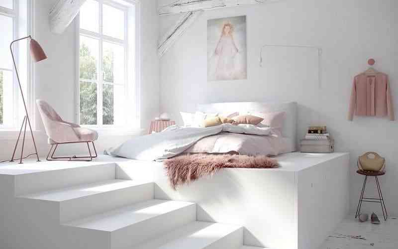 Phong cách nội thất phòng ngủ màu trắng bạn nhất định phải biết - phong cach noi that phong ngu mau trang ban nhat dinh phai biet 10
