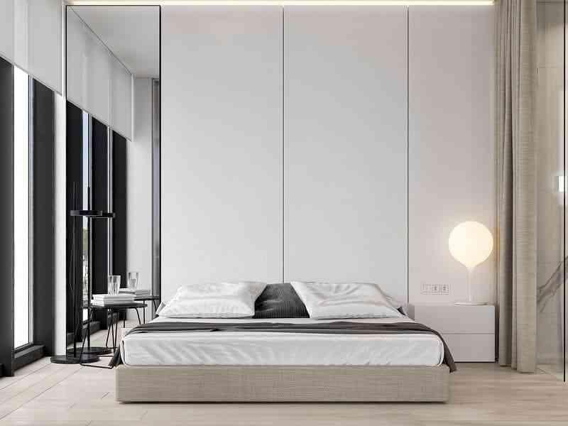 Phong cách nội thất phòng ngủ màu trắng bạn nhất định phải biết - phong cach noi that phong ngu mau trang ban nhat dinh phai biet 4