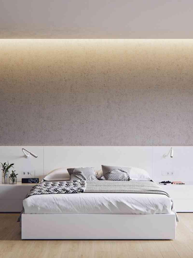 Phong cách nội thất phòng ngủ màu trắng bạn nhất định phải biết - phong cach noi that phong ngu mau trang ban nhat dinh phai biet 5