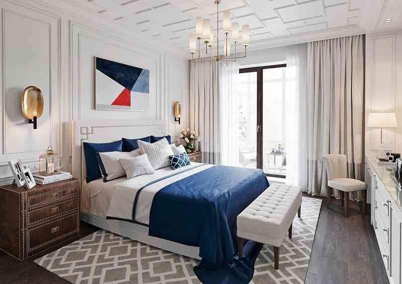 Phong cách nội thất phòng ngủ màu trắng bạn nhất định phải biết - phong cach noi that phong ngu mau trang ban nhat dinh phai biet 7