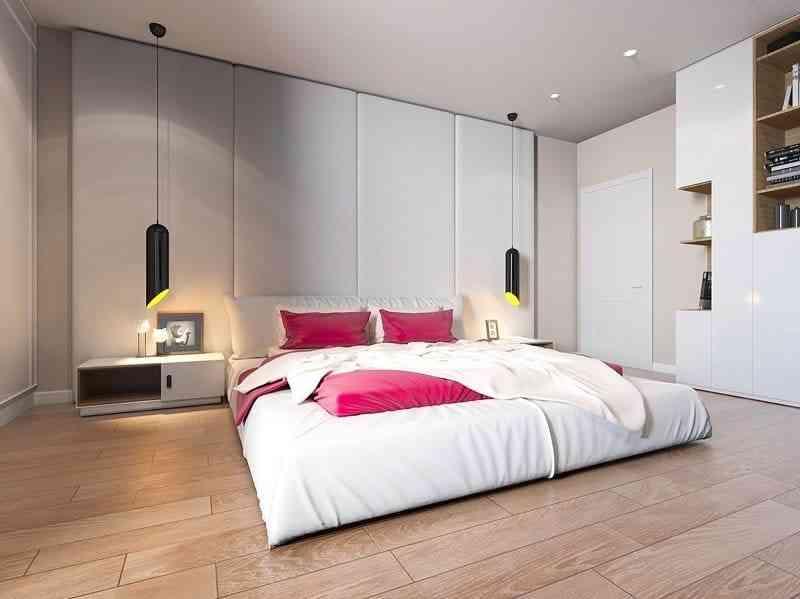 Phong cách nội thất phòng ngủ màu trắng bạn nhất định phải biết - phong cach noi that phong ngu mau trang ban nhat dinh phai biet 9