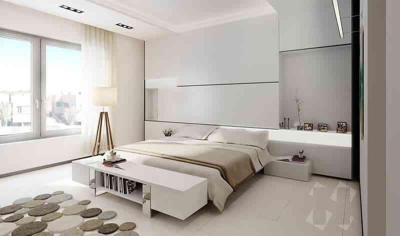 Phong cách nội thất phòng ngủ màu trắng bạn nhất định phải biết - phong cach noi that phong ngu mau trang ban nhat dinh phai biet
