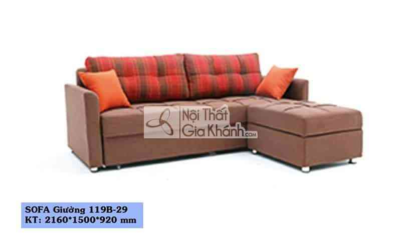 Sản phẩm sofa giường – sofa đa năng 119B-29 - san pham sofa giuong – sofa da nang 119b 29