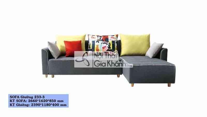 sofa bed nhap khau sofa giuong da nang sf233 3 - Sofa bed nhập khẩu - Sofa giường đa năng SF233-3